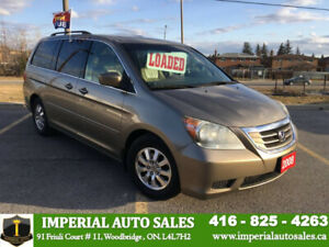 2008 Honda Odyssey EX-L- FULLY LOADED-# # CERTIFICATION INCLUDED