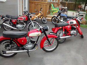 Antique Motorcycle Collection 1959
