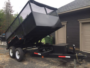 2018 BRAND NEW DUMP TRAILER financing available $7990