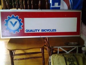 Sign - References 'Bicycles'