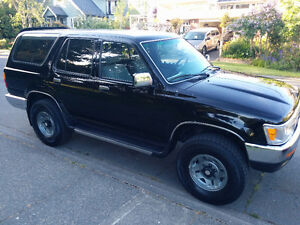 1993 Toyota 4Runner V6 LOW KM, very well maintained