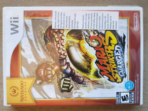 Sealed Mario Strikers Charged Game - Nintendo Wii