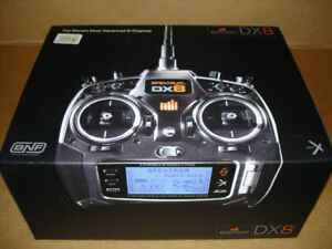 Spektrum DX8  transmitter 2.4 ghz