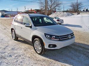 2016 Volkswagen Tiguan AWD Special Edition  Brand New Condition