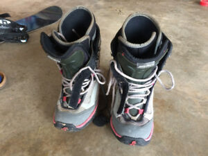 size 5 snowboard boots for sale