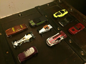 9 hotwheel mystery cars