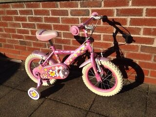 Girls bike like new only used twice fully working