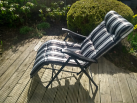 Garden lounger by Dobbies