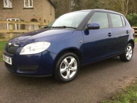 SKODA FABIA 1.4 16v, 1 PREVIOUS OWNER FULL SERVICE HISTORY, ONLY 72000 MILES, 12 MONTHS MOT