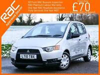 2010 Mitsubishi Colt 1.1 CZ1 5 Door 5 Speed Parking Sensors Just 2 Private Owner