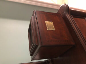 Bombay photo album storage box