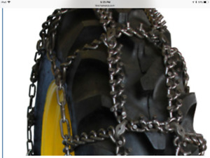 New Tractor Chains