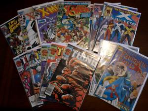 17 marvel comic books
