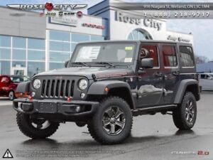 2018 Jeep Wrangler Unlimited Rubicon 4x4  - Leather Seats