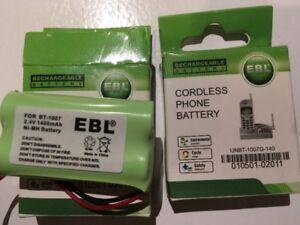 Battery, piles UNBT-1007G-140 pour téléphone sans file. Uniden