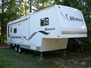 30' Okanagan 5th wheel trailer