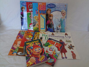 12  New Assorted Kids Activity Books