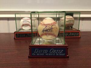 David Ortiz autographed baseball (JSA Authenticity)