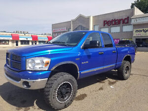 Lifted 2008 Dodge Ram 1500 Bighorn Financing Available.