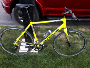 Cannondale road bike (quick speed 3)