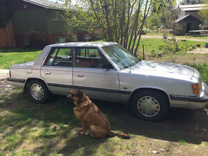 86 Dodge Aries LE K Car
