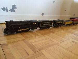 STREAM LINE ELECTRICAL TRAIN (train antique en métal)