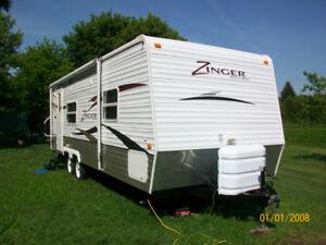 Zinger travel trailer