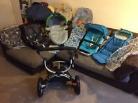 Quinny Buzz complete travel system 3 in 1 with lots of extras CAN POST