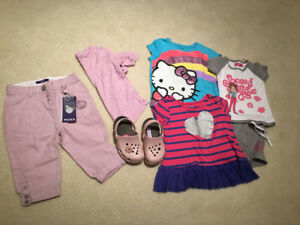 Girls 3T items
