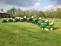 John Deere riding mowers for sale