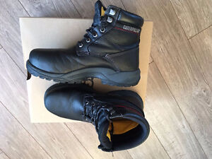 caterpillar woman safety shoes size 8