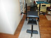 BENCH PRESS WITH 200LB OF WEIGHTS