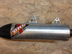 Drd exhaust for a Yamaha raptor 700