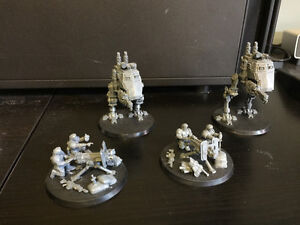 Warhammer 40k Imperial Guard  (or astra militarum I guess)