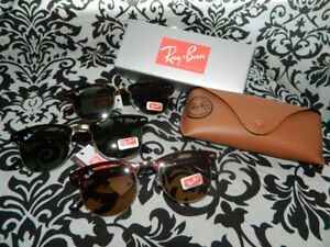 Brand new Ray-Ban Clubmaster Classic sunglasses