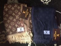 Chanel & LV scarfs with tags new