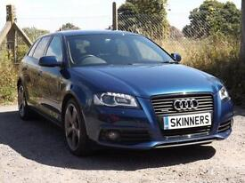 Audi A3 Sportback TDi Quattro S Line Special Edition 5dr DIESEL MANUAL 2012/12