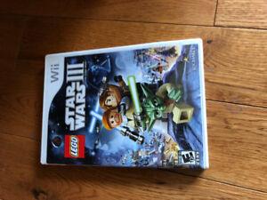 Wii video game Star Wars III
