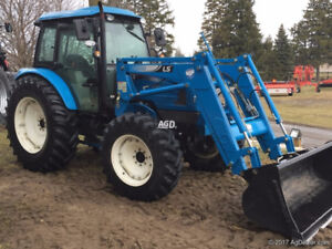 LS 7040 CPS FWA Tractor - 97 hp w/ loader