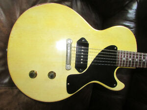 2 Gibson les Paul Juniors 1963 vintage luthier made replica
