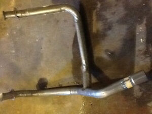 New Exhaust Pipe