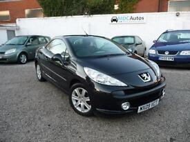 2009 Peugeot 207 CC 1.6 16v 120 Coupe Sport, HARD TOP CONVERTIBLE, LOW MILEAGE
