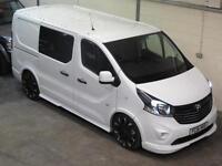Vauxhall Vivaro VXR SPORTIVE DOUBLE CAB 1.6CDTi 120ps Limited Edition Crew Cab