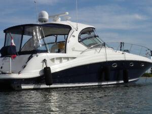 Sea Ray Sundancer 420 2004, moteur Diesel, Plate forme A-1
