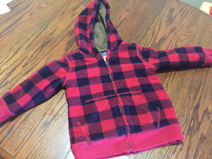 Size 4 t boys winter jacket