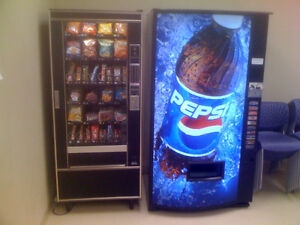 Vending Machines For Sale on Location