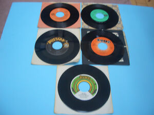 VINTAGE 45S RECORDS 70S AND 80S MEAT LOAF, ASIA, AC/DC ETC London Ontario image 6