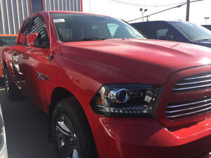 *WOW* BRAND NEW RAM 1500 Q/C SPORT 4X4 ONLY $37988
