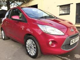 2009 59 Ford Ka 1.2 Zetec 3 Door Met Blush **One Lady Owner, Air Con, £30 Tax**