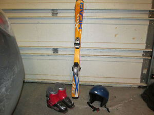 Junior ski set